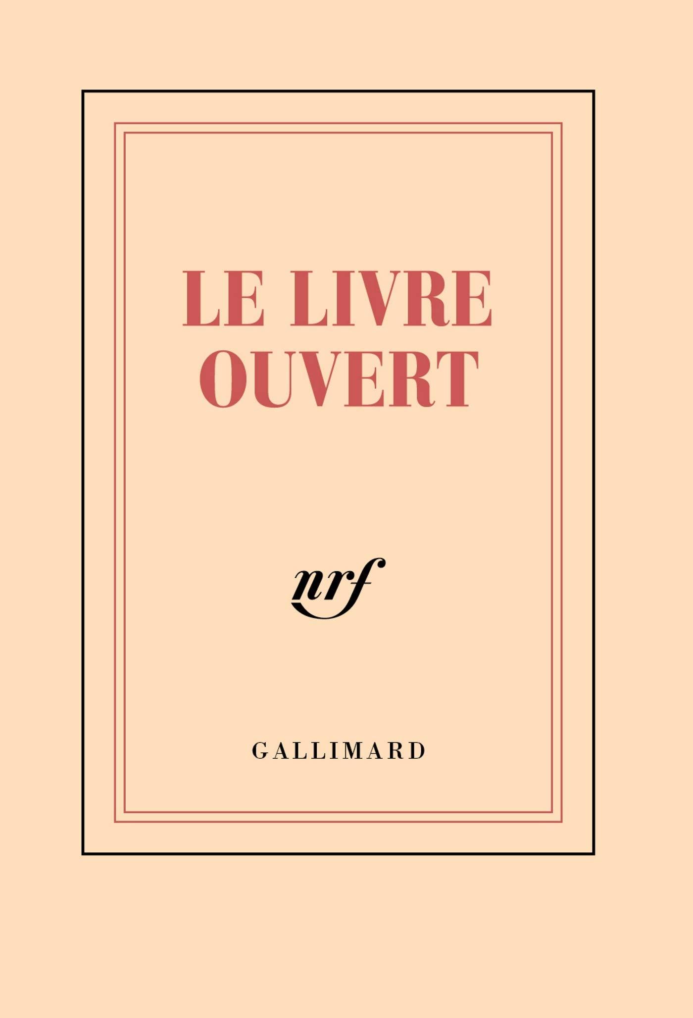 Papeterie Gallimard Carnet Poche Ligne Le Livre Ouvert 8
