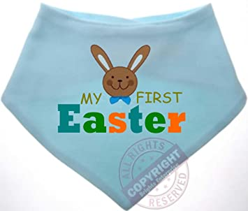 PERSONALISED FIRST 1ST CHRISTMAS BANDANA BIB NEWBORN BABY GIFT STOCKING FILLER