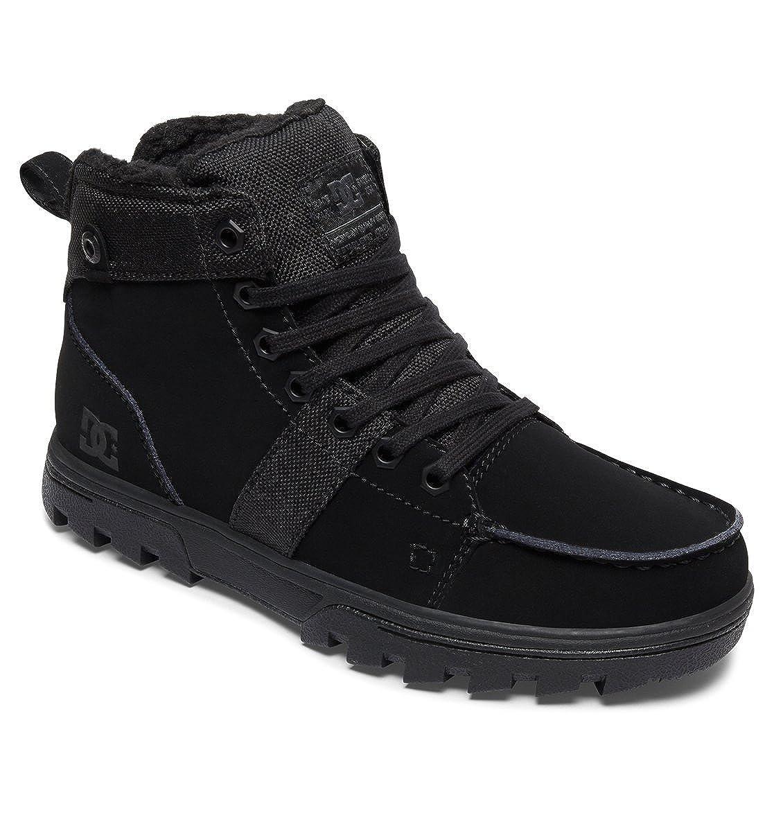 DC Schuhes Woodland - Schnürstiefel für Frauen Frauen für ADJB700003 schwarz/schwarz/schwarz 06431b