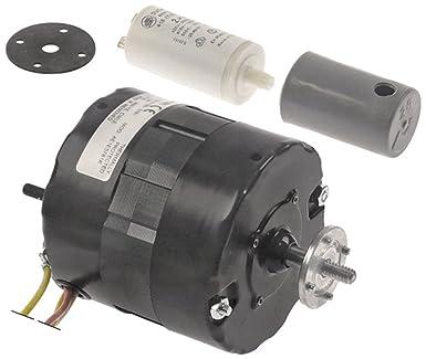 FASCO Ventilador Motor con condensador 50 Hz Rodamiento de ...