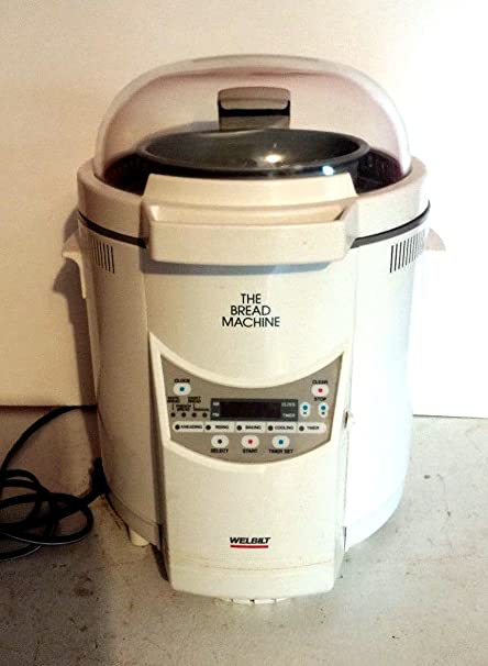 amazon com welbilt bread machine maker abm 100 4 with manual rh amazon com Wel-Bilt Bread Maker Model ABM4100T welbilt bread machine manual abm-100-4
