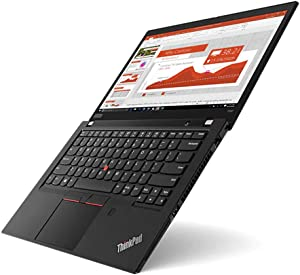 "Lenovo ThinkPad T490 20N20032US 14"" Notebook - 1920 X 1080 - Core i5 I5-8265U - 8 GB RAM - 256 GB SSD - Glossy Black - Windows 10 Pro 64-bit - Intel UHD Graphics 620 - in-Plane Switching (IPS) Te"