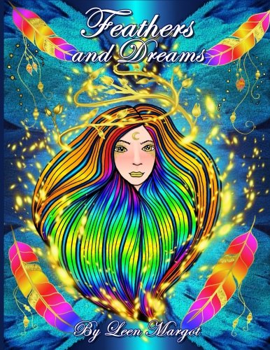 Download Feathers and Dreams: Adult coloring book, Art therapy PDF ePub fb2 book