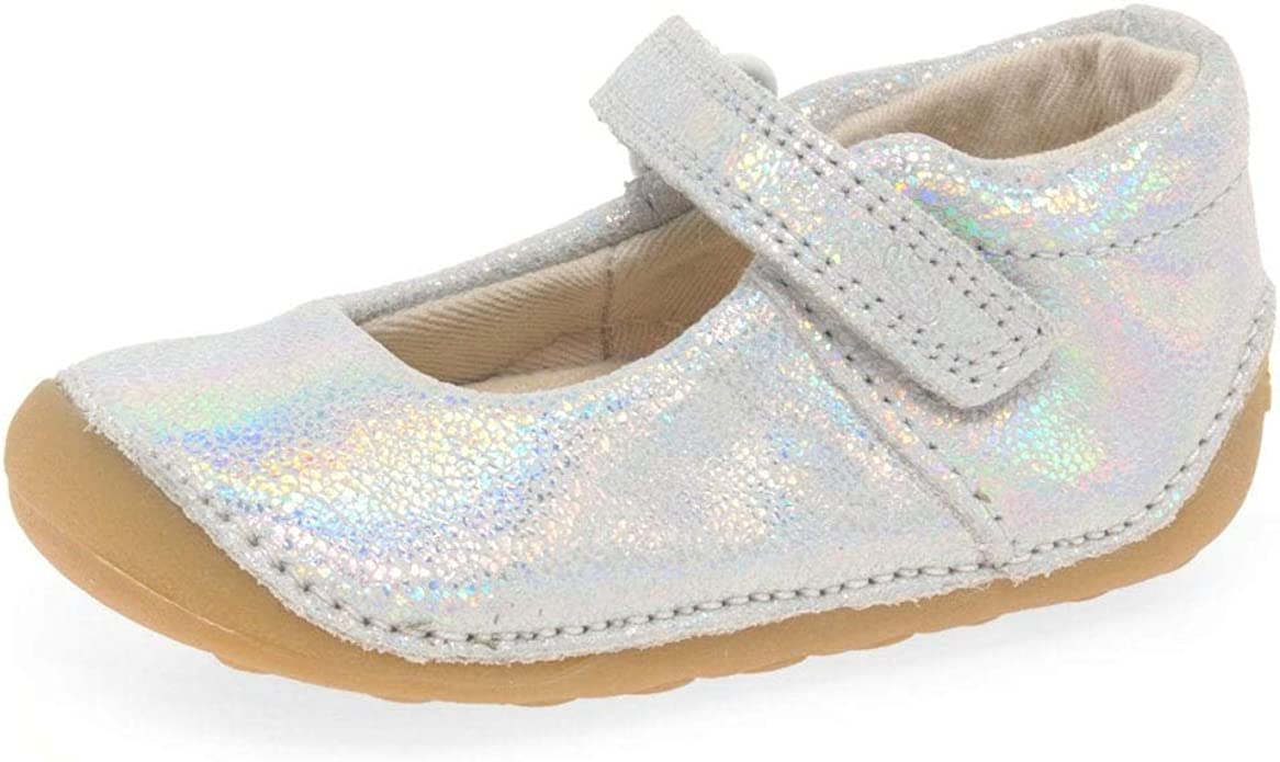 Clarks Tiny Mist Toddler Suede Shoes in