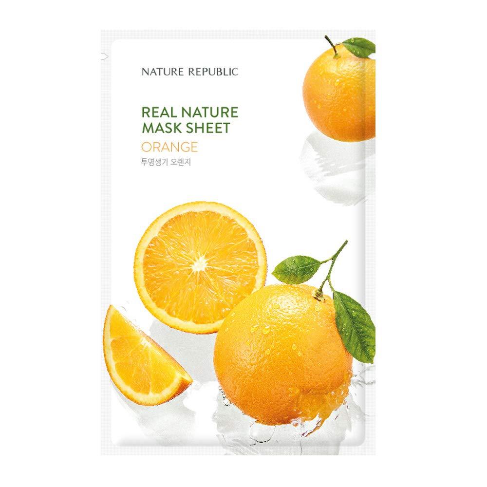 [New] Nature Republic Real Nature Mask Sheet_10Sheet (#Orange)