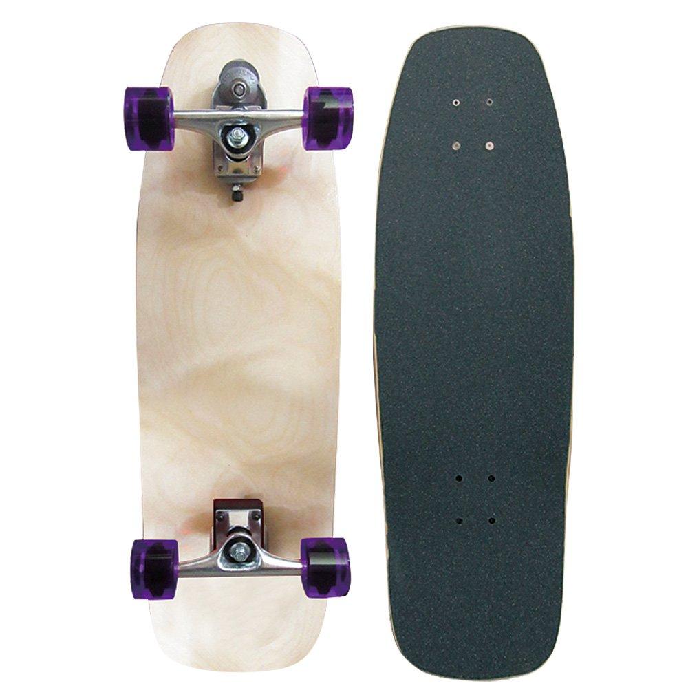 日本に サーフスケート WOODY スケートボード スケボー コンプリート WOODY PRESS 31インチ ウッディープレス スラスターシステム2 31インチ サーフィンオフトレ用スケートボード スケボー B01LXAGIAP, BAROCCA(バロッカ):646f7f49 --- a0267596.xsph.ru