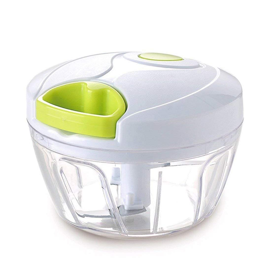 Keynis® Fruit and Vegetable Onion Chopper Manual Chopping Cutting Mix with 3 Blades