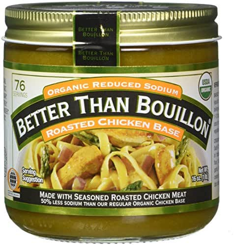 Broths: Better Than Bouillon Organic Reduced Sodium