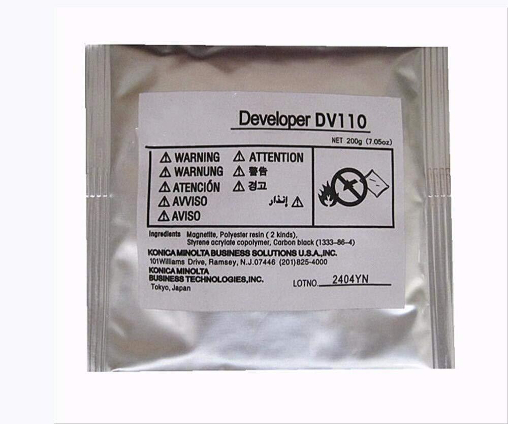 Printer Parts New DV110 Developer Iron Power Compatible for K0nica minolta DI152 183 162 163V 210 220 7616V 221 Printer Developer 200g/bag