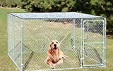 Agfabric Reflective Aluminet Shade Cloth Cover for Dog kenel 7x6ft
