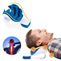 PAWING Chiropractic Pillow - Neck and Shoulder Relaxer Cervical Pillow Neck Traction...