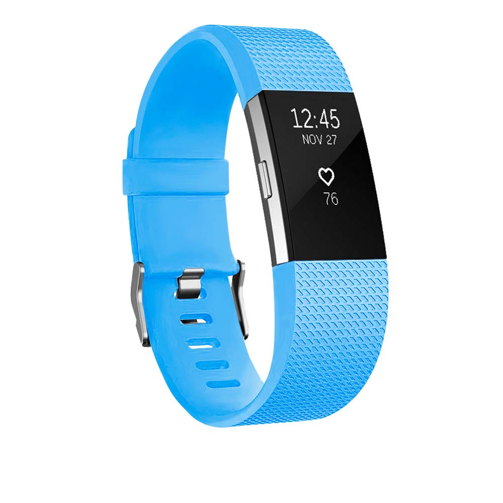 Malla Large para Fitbit Charge 2 Azul claro -7D3SFD6Z