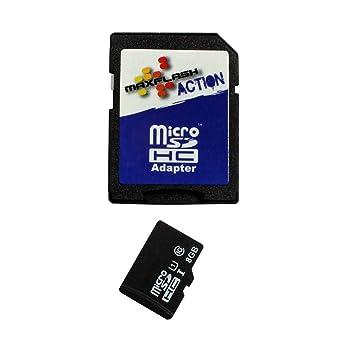 Tarjeta de memoria 8GB para Vodafone Smart 4 turbo, Clase 10, soporte Ultra HD;: Amazon.es: Electrónica