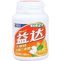 益达 木糖醇****口香糖 香橙薄荷味 40粒