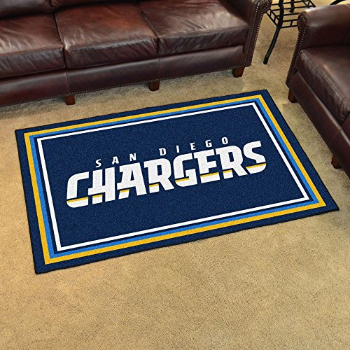 NFL - San Diego Chargers Rug 4x6 46''x72'' by Fanmats