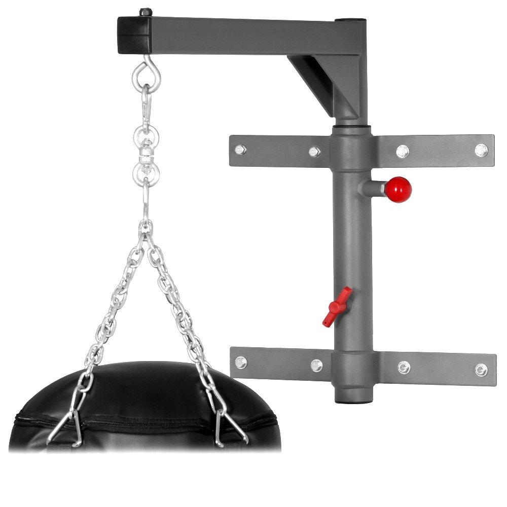 amazoncom xmark spacemiser pivoting heavy bag wall mount xm2831 heavy punching bags sports u0026 outdoors