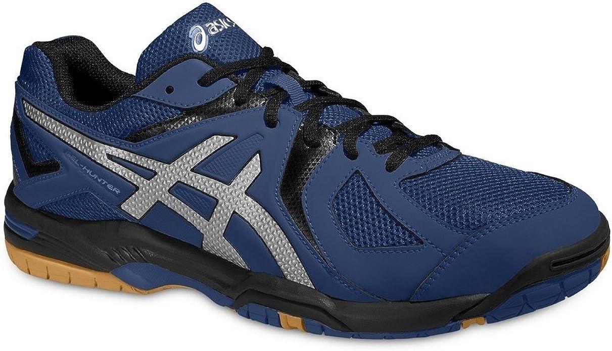 Gracioso Tercero fábrica  ASICS Gel-Hunter 2 Indoor Court Shoes - 5.5 Blue: Amazon.co.uk: Shoes & Bags