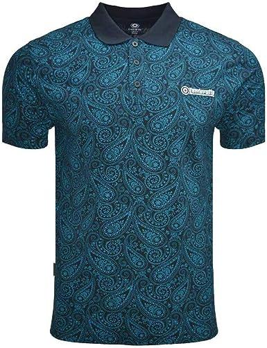 Lambretta Paisley AOP Polo Camisa Hombre: Amazon.es: Ropa y accesorios