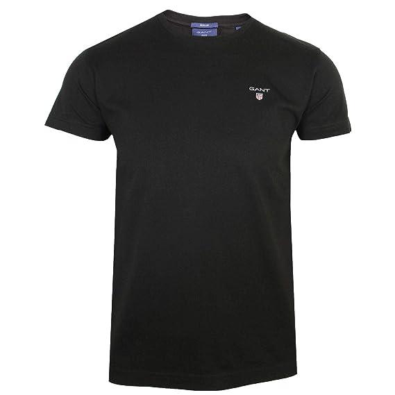 53a8207bda0 Gant The Original Mens Black T-Shirt 2XL: Amazon.co.uk: Clothing