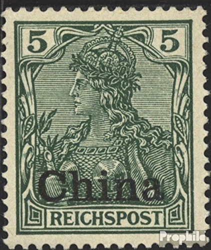 - German. Post China 16 1901 Print Edition (Stamps for Collectors)