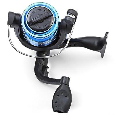 Saltwater Freshwater Mini Plastic Spinning Fishing Reel Left//right Fishing Reel