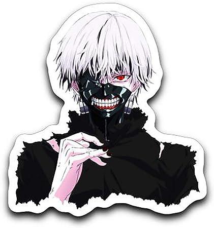 Tokyo Ghoul Kaneki Ken Anime Car Window Bike Decal Sticker 001