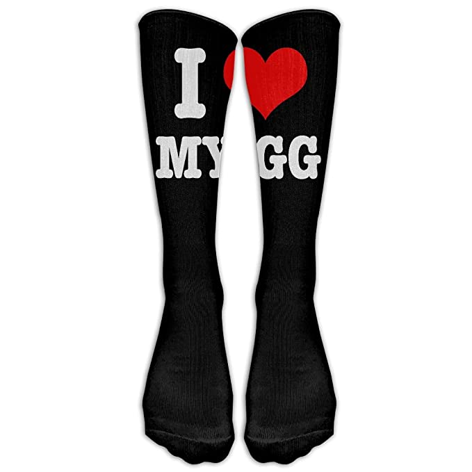 cheap price outlet for sale biggest discount Amazon.com: I Love My GG Knee High Long Socks Athletic Tube ...