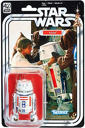 Star Wars The Black Series 40th Anniversary R5-D4 Exclusive 6 Inch Figure