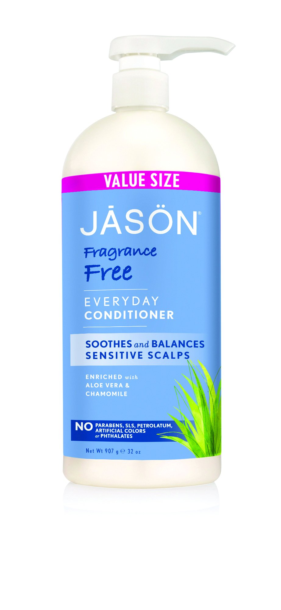 Jason Fragrance Free Conditioner, 32 Fluid Ounce