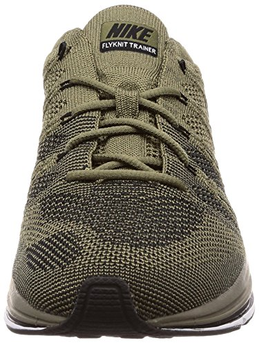 Adulte Nike Black Flyknit Medium Gymnastique Trainer Mixte Chaussures white de Olive HPxRqH