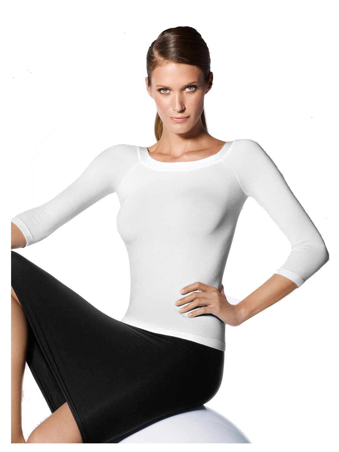 Wolford Cordoba Pullover (51168) (Large, White)