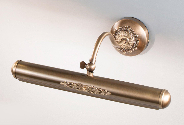 Nervilamp Bilderleuchte Vincent 9 9 9 Bronze Handarbeit,Made in  b7e73d