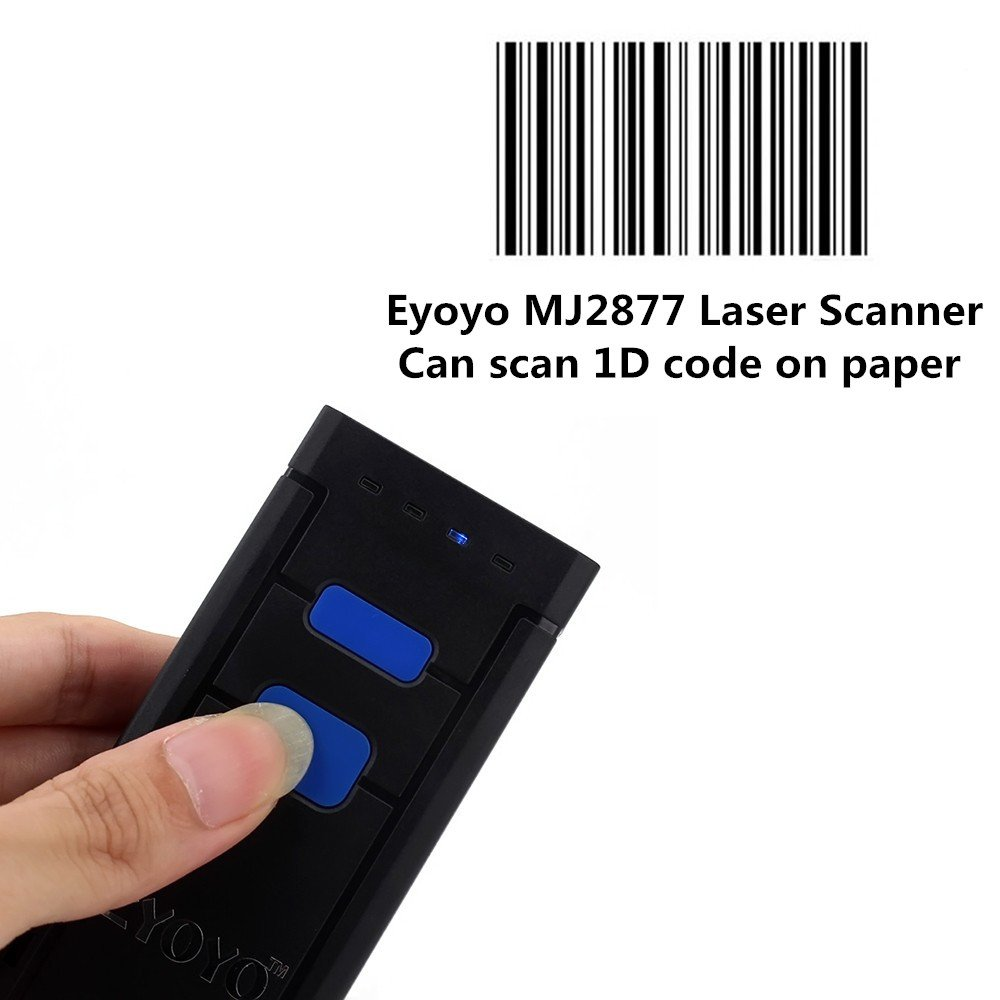Eyoyo Mini Portable 1D Barcode Scanner for Smartphone and Windows System China OEM