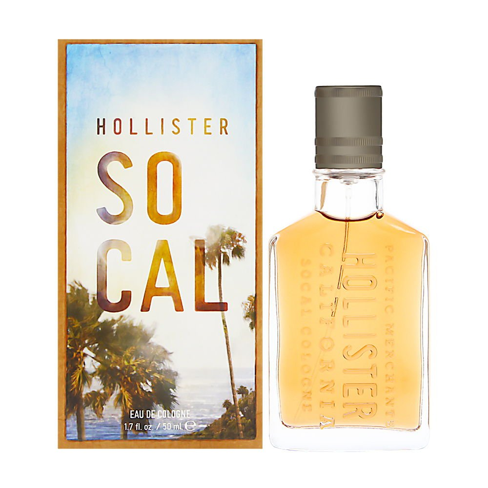 Hollister Socal Cologne Spray for Men, 1.7 Fluid Ounce