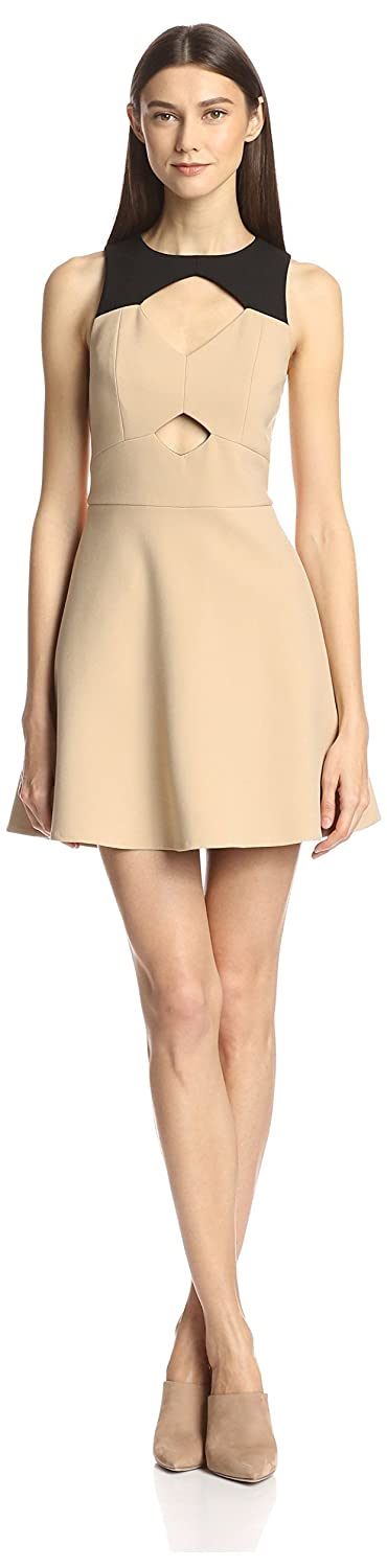 Rachel Zoe Women's Page Fit-and-Flare Dress with Cutouts