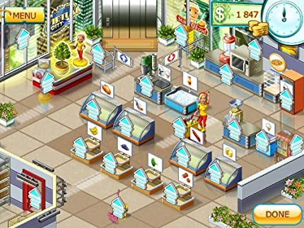 free  games supermarket mania full version