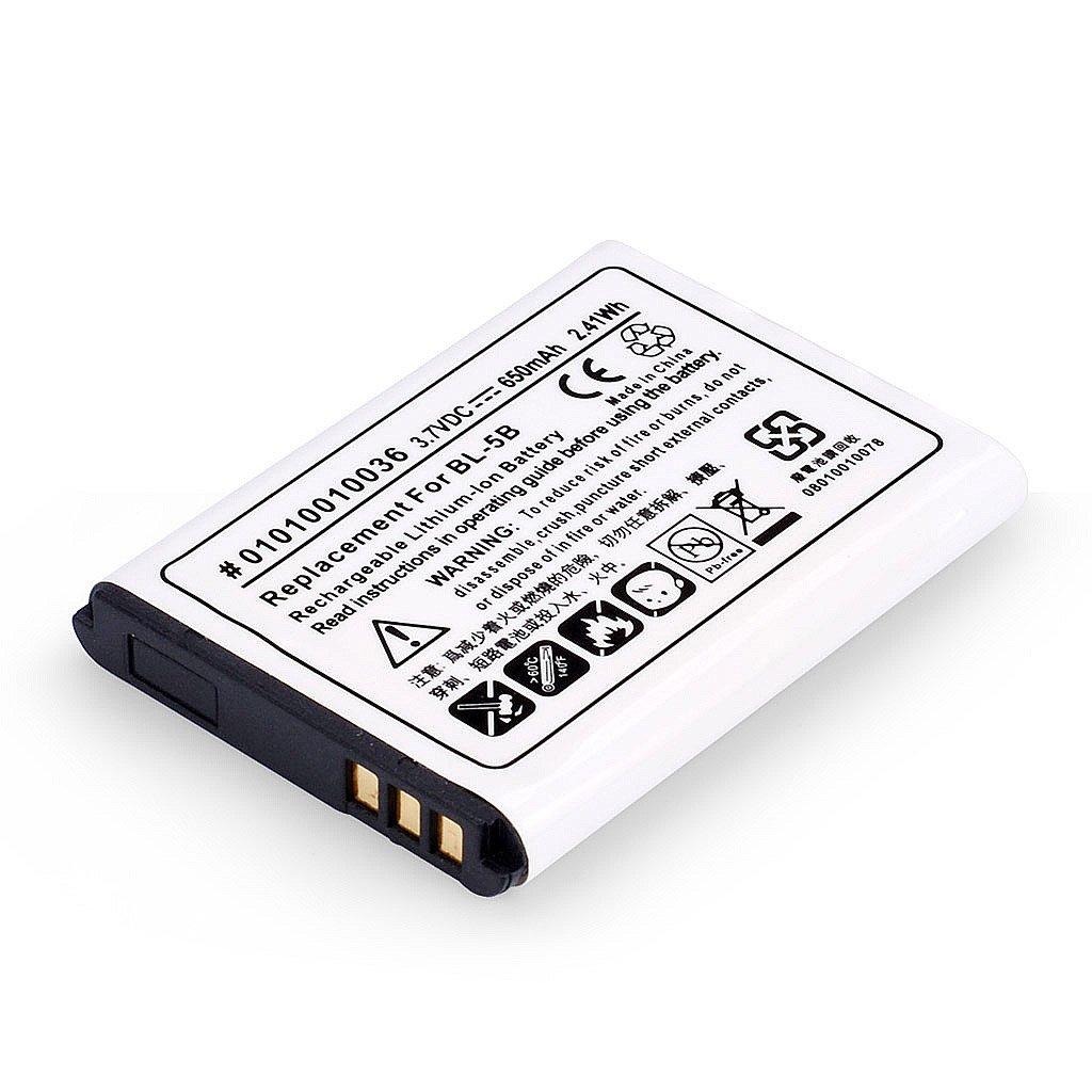 3.7V 650mAh 10BP et CK-11 Avantree BL-5B Batterie Rechargeable Li-ion Con/çue pour l/'Avantree 10BS