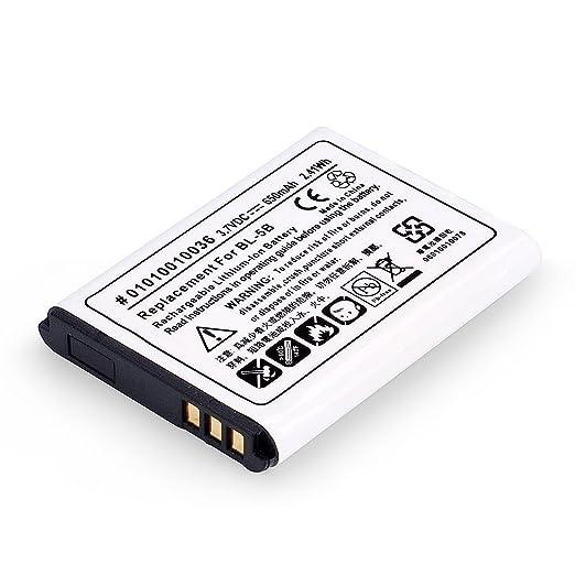 9 opinioni per Avantree BL-5B batteria ricaricabile agli Ioni di Litio (3.7V 650mAh)per l'uso