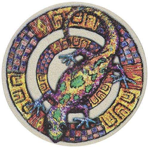 Thirstystone Stoneware Whimsical Gecko Coaster, Multicolor