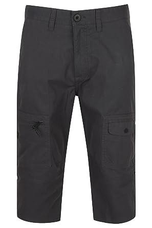 Dissident Herren 3 4 Shorts Combat Cargo Guisa Baumwolle Freizeit Mode  Sommer NEU - blau 6a1c578847