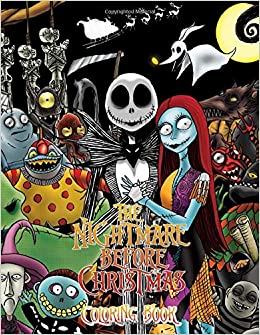 The Nightmare Before Christmas Coloring Book: Great Coloring ...