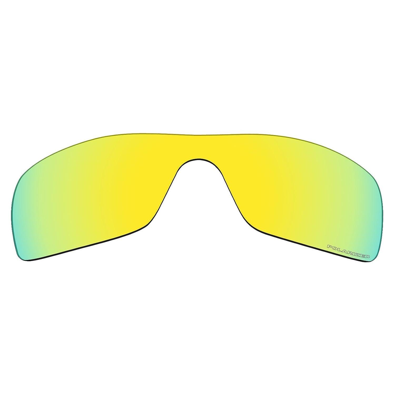 9cacd18e19 Mryok+ Polarized Replacement Lenses for Oakley Batwolf - 24K Gold   Amazon.com.au  Fashion