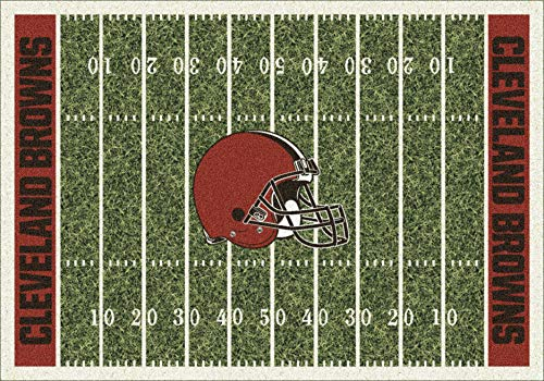 Cleveland Browns NFL Team Home Field Area Rug by Milliken, 3'10