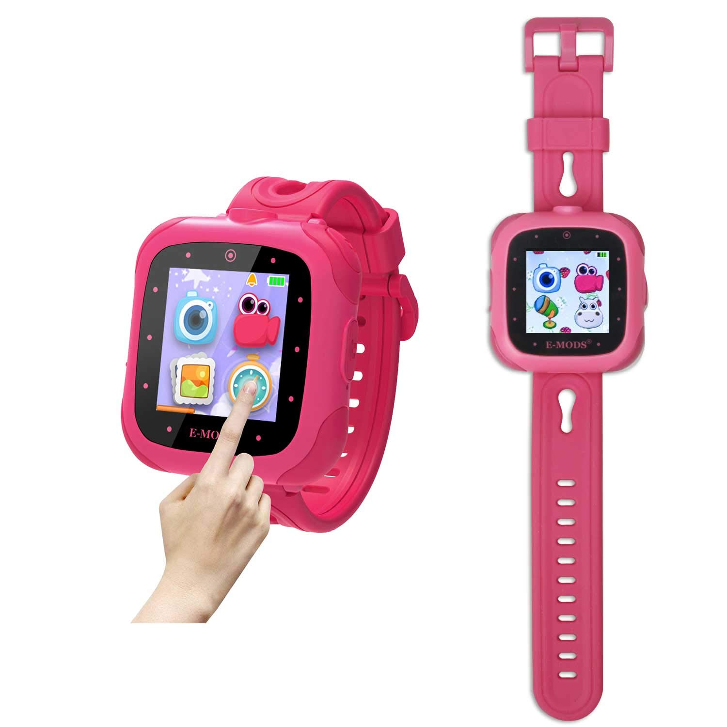 """E-MODS GAMING Educational Smart Watch for Kids-1.5""""Touchscreen Digital Wrist Watch with Camera,Learning Toys Smartwatch Gifts for Children Boys and Girls"""