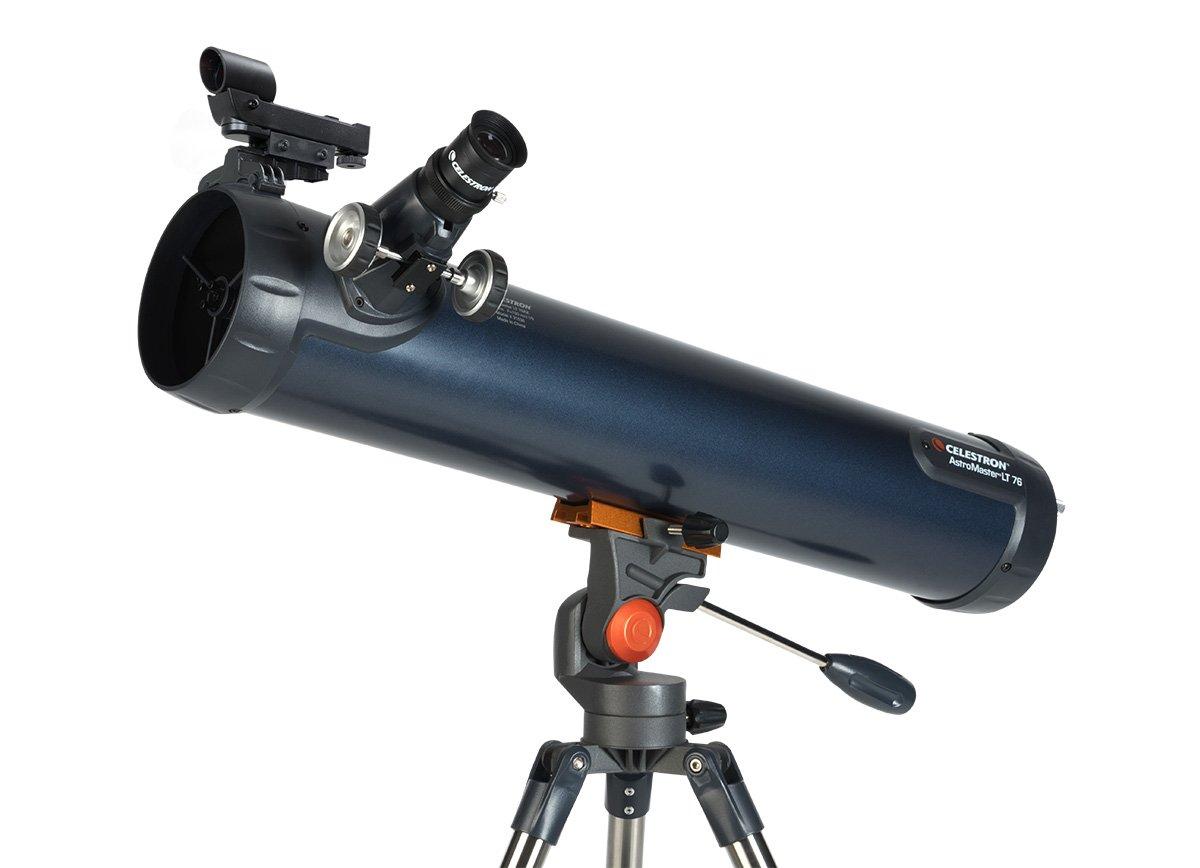 Einsteiger teleskop fernrohr im koffer powerseeker tt telescope