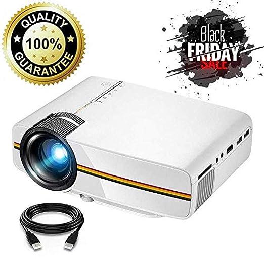 AWYYSYS Proyector Mini proyector Multimedia Proyector de Cine ...