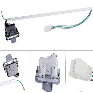 Podoy 3949237 Washer Lid Switch for Whirlpool Kenmore WP3949247 AP3100003 PS350434 3949239 3949240