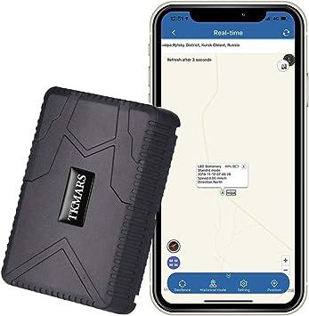 GPS Tracker Hangang, Rastreador GPS Standby 120 Días, Localizador GPS a Prueba De Agua, Dispositivo De Rastreo En Tiempo Real, Vehículo GPS Para Autocar Camión GPS Sin Instalación (Tk915): Amazon.es: Electrónica