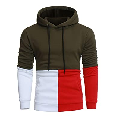 Manadlian Homme Sweat-Shirt à Capuche Manches Longues Pulls Manteau Hoodie  Imprimé  Amazon.fr  Vêtements et accessoires c8b502d58026