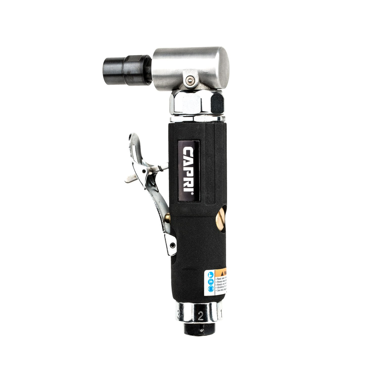 Capri Tools CP32072 Industrial Air Angle Die Grinder, 1/4'' by Capri Tools (Image #1)